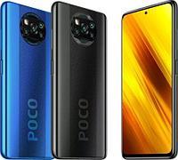 Poco X3 128gb, grey, blue