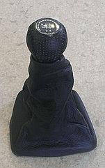 Чехол (кожух) ручки КПП (кожа) Лада Калина