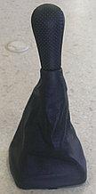 Чехол (кожух) ручки КПП (кожа) Лада Самара-2