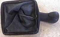 Чехол (кожух) ручки КПП (кожа) Лада Приора, фото 1