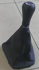 Чехол (кожух) ручки КПП (перфорированная кожа) на коробку с тросовым приводом Лада Гранта/Калина-2