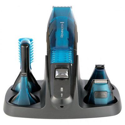 Триммер Remington PG-6070 5 в1 с вакуумной технологией, черный-синий