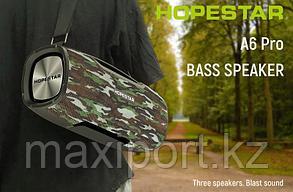 Boombox Портативная колонка Hopestar A6 Pro камуфляж с беспроводным микрофоном в комплекте!!, фото 2