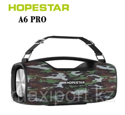Boombox Портативная колонка Hopestar A6 Pro камуфляж с беспроводным микрофоном в комплекте!! - фото 1