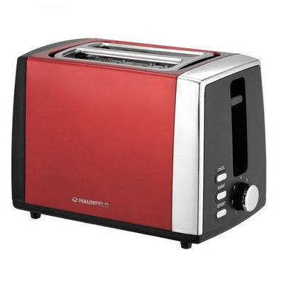 М0289 тостер Maunfeld MFT-815CH красный