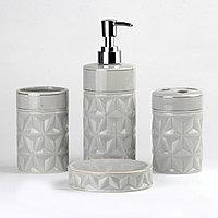 Керамический набор для ванной комнаты DW171G Серый