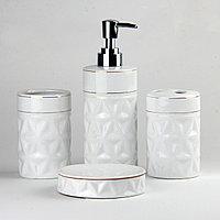Керамический набор для ванной комнаты DW171W Белый