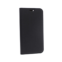 Чехол книжка Apple iPhone 12 Mini кожа, черный