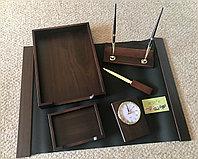 Настольный набор для руководителя Bestar, темный орех, 6 предметов