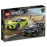 Lego 76899 Speed Champions Lamborghini Urus ST-X & Lamborghini Huracán Super Trofeo EVO