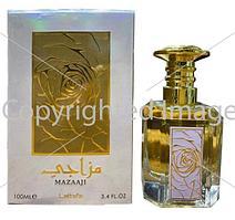 Lattafa Perfumes Mazaaji парфюмированная вода объем 100 мл (ОРИГИНАЛ)
