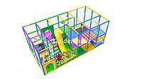 Детский игровой лабиринт 18 кв.м, игровые комнаты под ключ