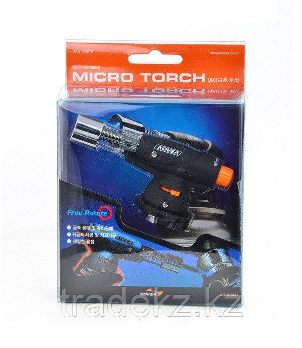 Горелка паяльник газовый Kovea KT-2301 Micro Torch для ювелиров и авимоделирования - фото 3