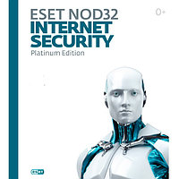 Eset NOD32 антивирус Platinum Edition - лицензия на 2 года на 3 ПК
