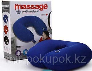 Подушка-подголовник массажная Neck Massage Cushion
