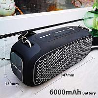 Портативная колонка Hopestar A30 Pro Boombox черная с беспроводным микрофоном в комплекте!!