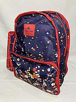 """Школьный рюкзак для девочек""""Glossy Bird"""". Двухсторонний. Высота 41 см, ширина 30 см, глубина 14 см., фото 1"""