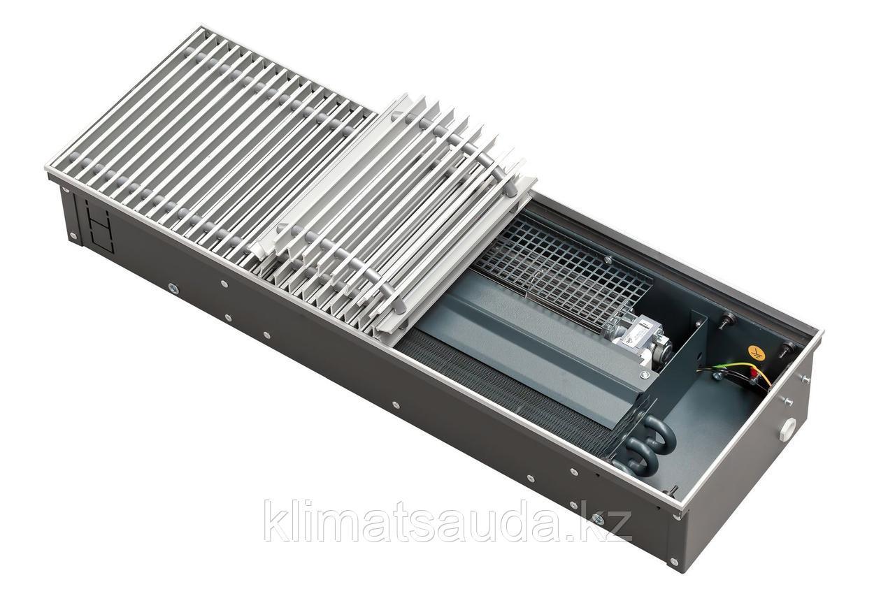 Внутрипольный конвектор Techno POWER KVZ 250-75-1400 с вентилятором