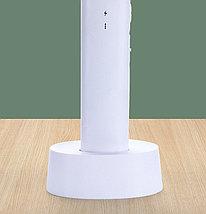 Ракетка мухобойка электрическая с док-станцией+ ночник/ уничтожитель комаров Mosqueto Rocket, фото 3