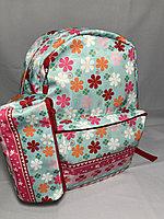 """Школьный рюкзак для девочек """"Glossy Bird"""". Двухсторонний. Высота 41 см, ширина 30 см, глубина 14 см., фото 1"""
