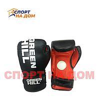 Перчатки боксерские GREEN HILL 12 OZ (черный)