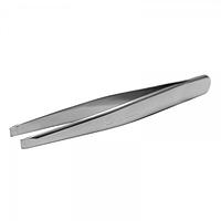 Пинцет STALEKS Beauty & Care 10 Type 1 для бровей (широкие прямые кромки) №90350