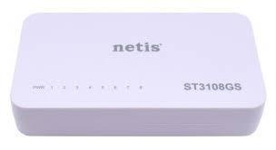 Коммутатор Netis ST3108GS, 8 x 10/100/1000 LAN, Auto MDI/MDIX