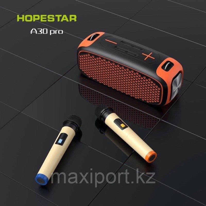 Портативная колонка Boombox Hopestar A30 Pro Чёрно-зеленая - фото 2