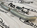 Защита заднего бампера «Уголки двойные» Нива Travel, фото 2