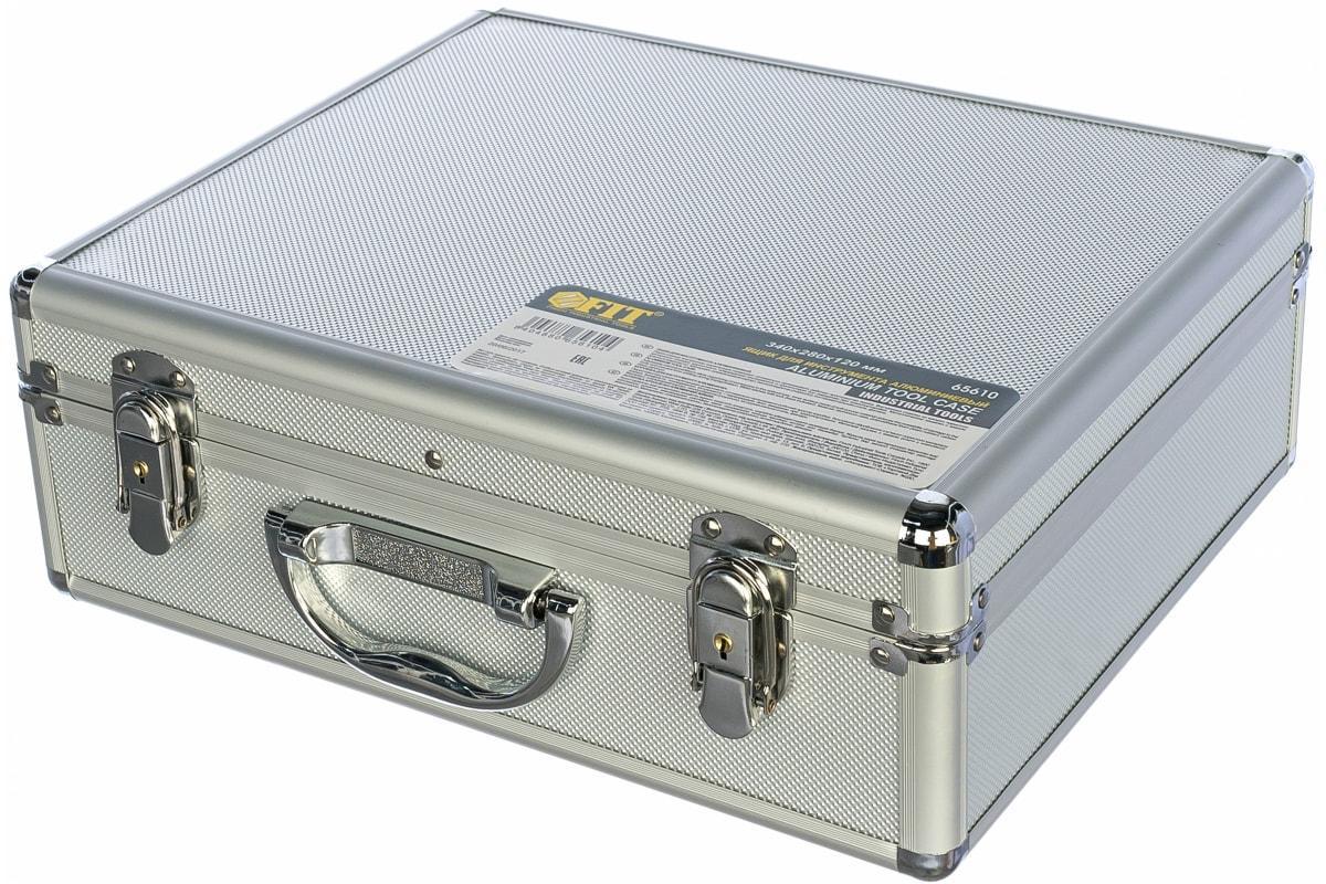 Ящик FIT 65610 для инструмента алюминиевый (34x28x12 см)
