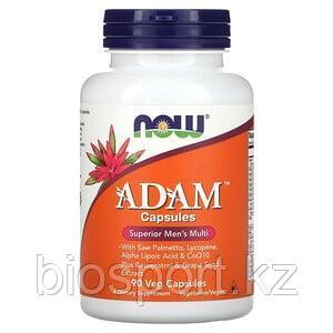Now Foods, ADAM, мультивитамины для мужчин, 90 капсул