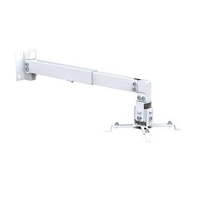 Кронштейн потолочный для проекторов Brateck PRB-2W белый