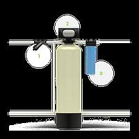 Система для очистки воды от нерастворимых примесей и железа Гейзер