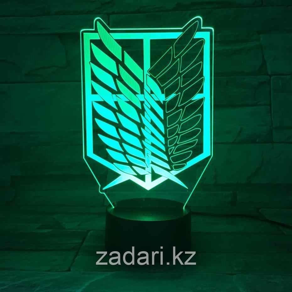 3D ночник
