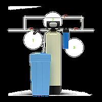 Система для умягчения жесткой воды Гейзер