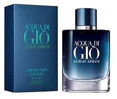 Giorgio Armani Acqua di Gio Profondo Lights парфюмированная вода объем 75 мл тестер (ОРИГИНАЛ)