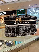 """Косметичка """"Love & peace"""", фото 1"""