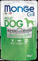 Монже Влажный корм для собак с бараниной и овощами