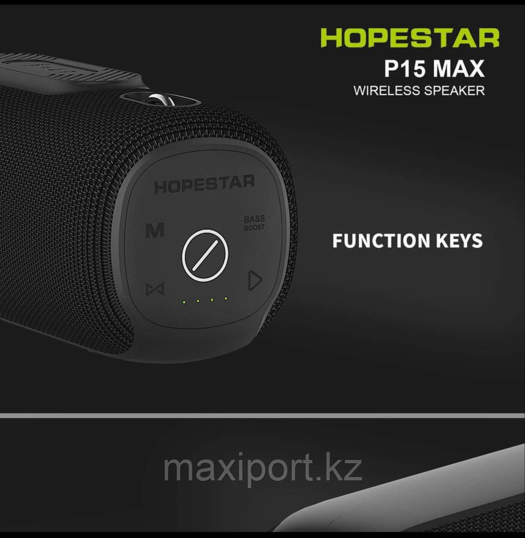 Портативная колонка Hopestar P15 Max (Цвет Синий) - фото 3