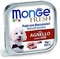 Монже Паштет для собак с ягнёнком