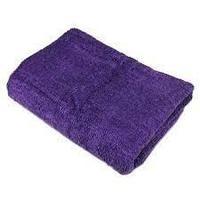 Простынь махровая 100x180 см,фиолетовая, Beautyfor