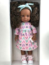 Кукла Paola Reina афроамериканка с кудряшками/ Испания/ 34 см