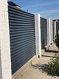 Стальной забор жалюзи, фото 2