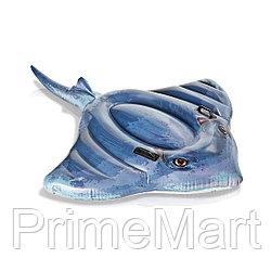 Надувная игрушка Intex 57550NP в форме ската для плавания
