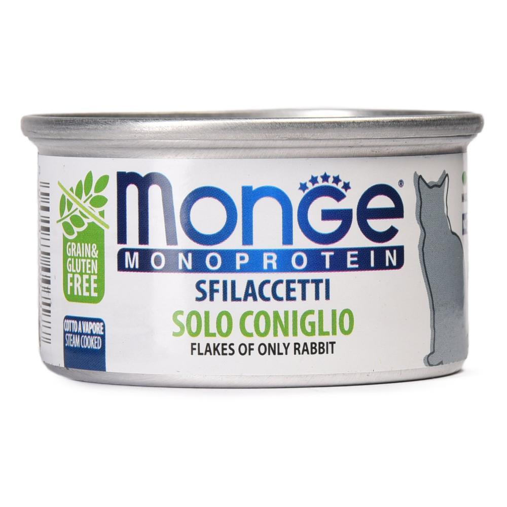 Monge (Монже) Monoprotein Консервы для кошек, Кролик