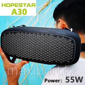 Портативная колонка Hopestar A30 Pro Boombox черная с беспроводным микрофоном в комплекте!!, фото 2