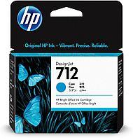 Картридж для плоттера HP 3ED67A 712 29ml Cyan Ink