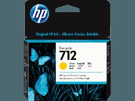 Картридж для плоттера HP 3ED69A 712 29ml Yellow Ink Cartridge