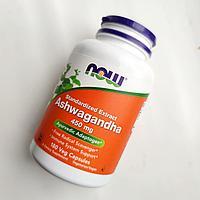 Ашваганда Now Foods 450 мг., стандартизованный экстракт ашвагандхи