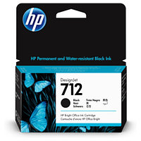 Картридж для плоттера HP 3ED70A 712 38ml Black Ink Cartridge